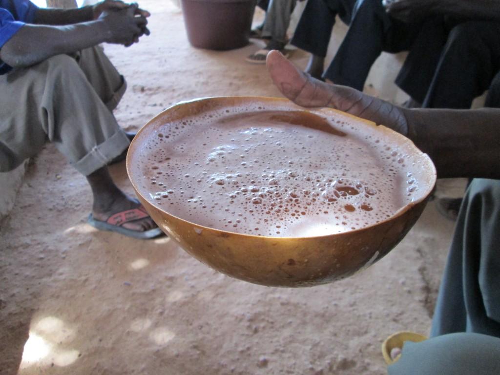Bière de sorgho rouge ou dollo ou RamOuaga