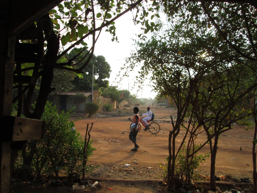 petit matin à Ouaga