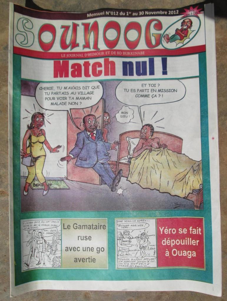 Sounoogo, Journal satirique