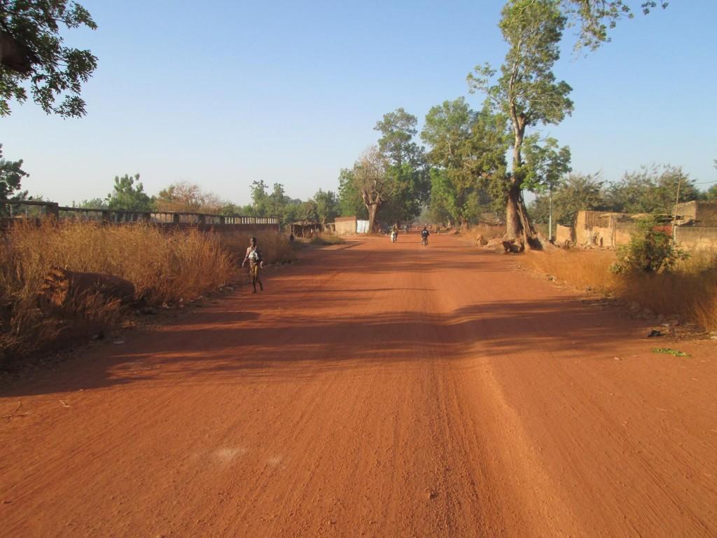 La route après Tangadassouri