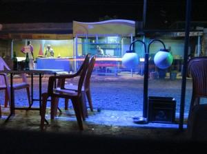 Vue de nuit depuis un maquis